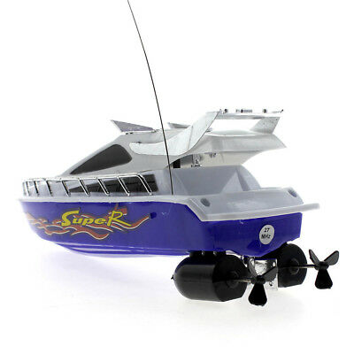 Boat Speed Electric Toy Model Ship Sailing Kids Child Game Gift +Remote Control