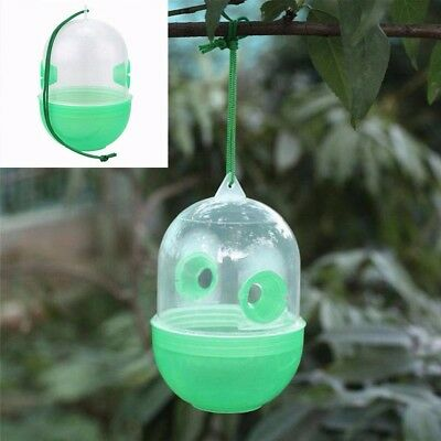 1xHanging Bottle Insect Hornet Wasp Fly Trap Catcher Killer Pest Outdoor Camp K6