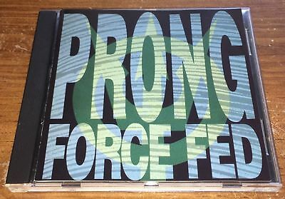 MINT! PERFECT! Prong FORCE FED (oop) CD original In-Effect 1991 silver hub press