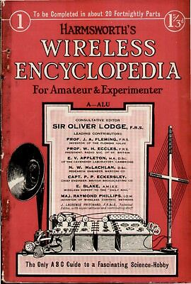 Harmsworth Complete Encyclopedia all 24 issues on searchable dvd 1924