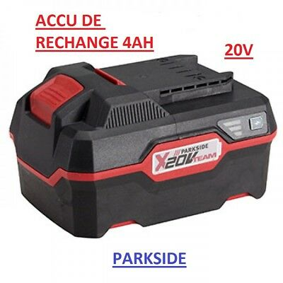 "Batterie 20V Batterie lithium-ion performante 4Ah  série ""PARKSIDE X 20 V Team"""