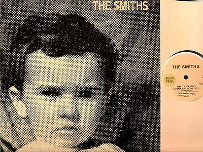 """THE SMITHS (MORRISSEY) that joke isn't funny anymore 12"""" EX+/EX RTT 186 indie uk"""