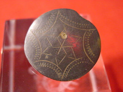 MEDIEVAL - STAR - BUTTON - 14-16 th century ! NICE ! RARE !