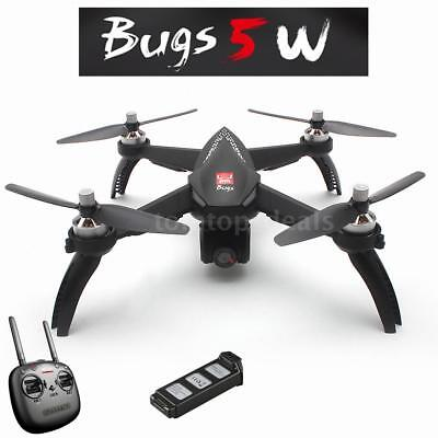 MJX Bugs 5W 1080P 5G Wifi FPV Camera GPS Positioning RC Drone Extra Battery E1B6