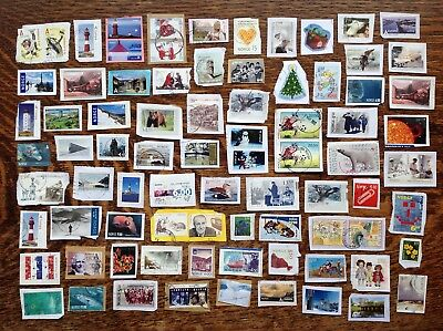 Collection Of Norway Stamps Kiloware