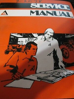Allis-Chalmers 440 Tractor Service Manual 1975