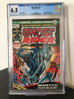 GHOST RIDER #1 // 1st App SON OF SATAN // CGC 6.5