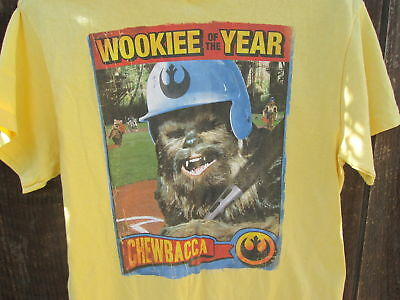 CHEWBACCA Vintage Star Wars WOOKIEE of the YEAR T-Shirt