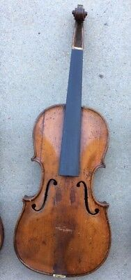 old violin for parts or repair. needs work.