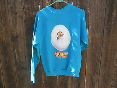 HOWARD THE DUCK Vintage Film Promo Sweat Shirt GEORGE LUCAS