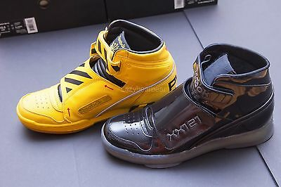 d143aa8e31b75a Reebok Retro Alien Stomper Final Battle Black Yellow Double Pack Men Size  10.5