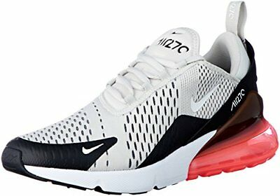 NIKE Men's Air Max 270, Black/Light Bone-HOT Punch, 10 M US