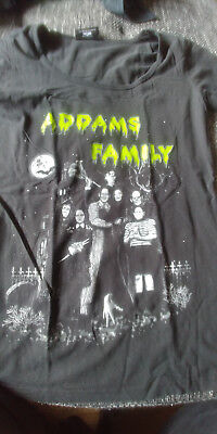 Addams Family Shirt (Gothic, Punk, Horror)