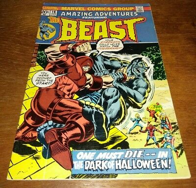 "Amazing Adventures #16, ""The Beast"" * VG+ 4.5 ""Rutland Vermont, Juggernaut App."""