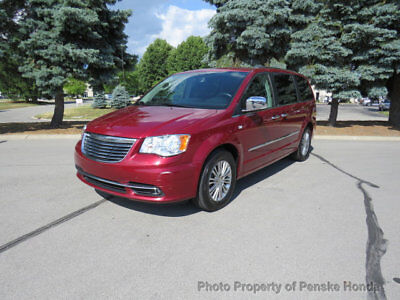 Chrysler Town & Country 4dr Wagon Touring-L 30th Anniversary 4dr Wagon Touring-L 30th Anniversary Van Automatic V6 Cyl Deep Cherry Red Crysta