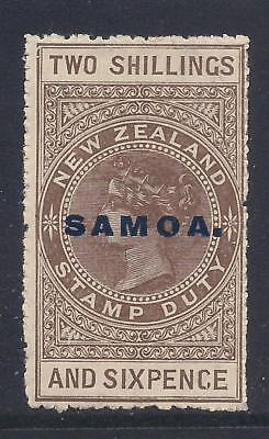 SAMOA  1914-24 opt  2s6d grey-brown  SG123?  LMM