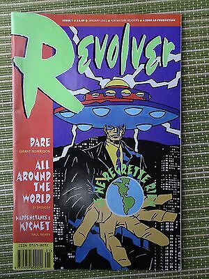 Revolver #7 1990 2000AD production FN+