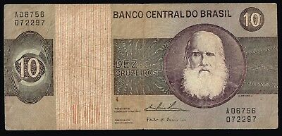 Brazil Currency Paper Money 10