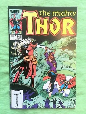 Thor #347 (Sep 1984, Marvel) NM