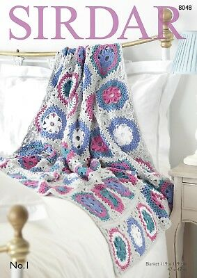Crochet Blanket Kit with Yarn