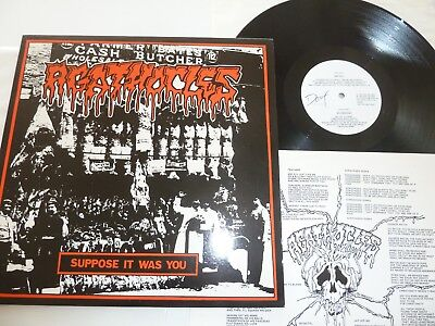 LP Agathocles - Suppose it was you / 1.Press / Metal / Grindcore / Top Condition