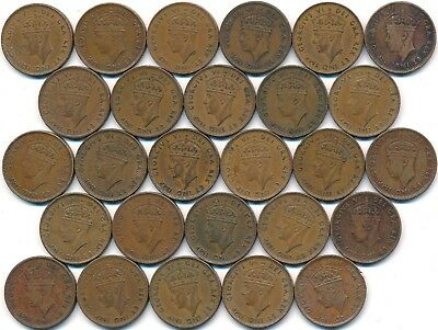 27 One Cents From Newfoundland Canada 1940-1947