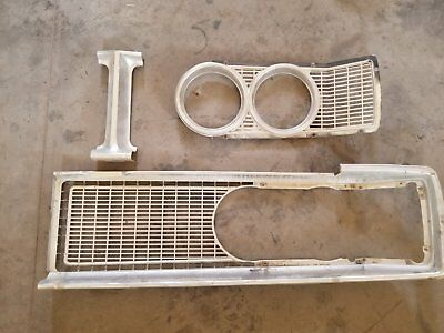 1966 Dodge Coronet Dr. Side Grill/Head Light Insert & Center Piece