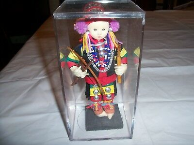 House of Handicrafts Handmade AKHA DOLL Thailand
