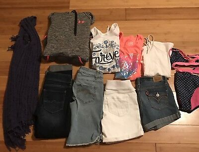 Girls Size 12 Clothes. Justice and more. 11pc lot. Summer