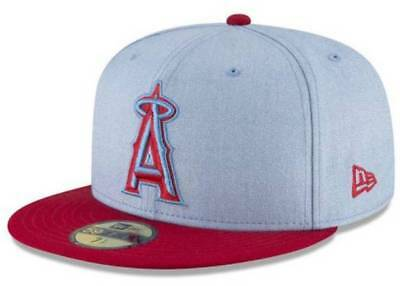 newest b17d9 2d343 Official MLB 2018 Father s Day Los Angeles Angels New Era 59FIFTY Fitted Hat