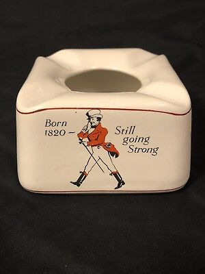 Rare Johnnie Walker Born Still Going Strong Pub Ashtray Made In England Exc.Cond