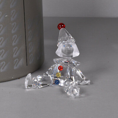 Swarovski Puppet Clown Crystal Figure, Retired, as New in BOX, Childrens Gift