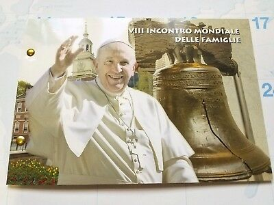 2015 Vatican 2 Euro – World Meeting Of Families In Philadelphia Folder