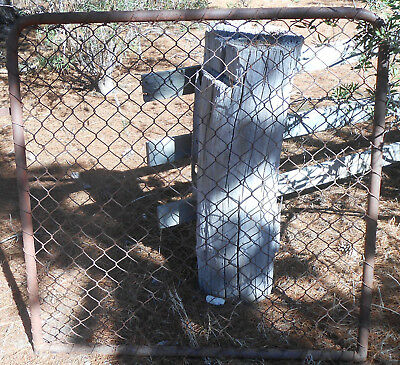 Vintage Cyclone Gate Solid Original Rustic for Farm or Yard