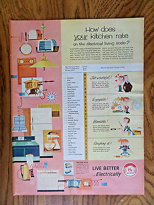 1957 Live Better Electrically AdHow Does Your Kitchen Rate Living Scale?