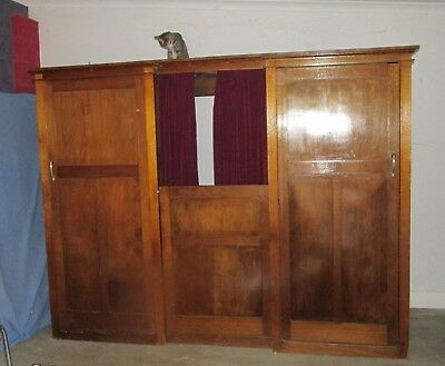 Authentic Church Confession box - Antique / Collects item / Cupboard