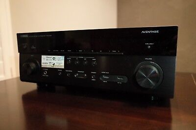 Yamaha Aventage RX-A750  7.2 Home Theater Receiver bundle with remote