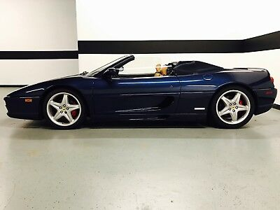 1999 Ferrari 355 F355 F1 Spider Convertible Ferrari F355 F1 Spider Convertible! Only 19k Miles! Recently Serviced! Clean!