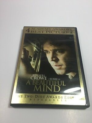 A Beautiful Mind (Two-Disc Awards Edition) DVD Movie Pre-Owned