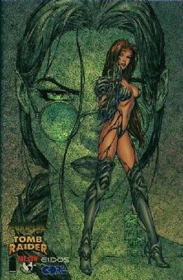 Witchblade/Tomb Raider (1998) One-Shot (Gold Foil Glitter Variant)