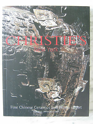Fine Chinese Ceramics,paintings And Works Of Art Christie's New York March 2001