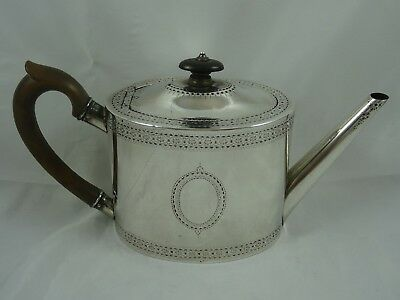 SMART, VICTORIAN solid silver TEA POT, 1875, 454gm