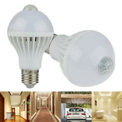 Motion Infrared Induction Led E27 5w/ Light Bulb Pir 7/ Detection Body Sensor