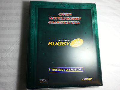 2003 Kryptyx Australian Rugby card set in Official Album - w/- Inserts No Autos