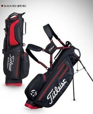 Titleist 4 Up black/red StaDry stand bag TB6SX2-06