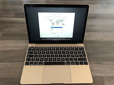 Apple MacBook A1534 30,5 cm (12 Zoll) Laptop - MK4N2D/A (März, 2015)