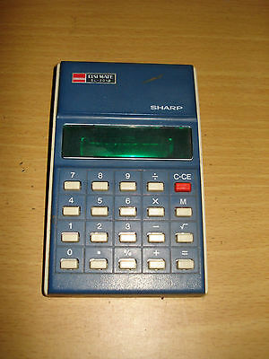 SHARP EL-201S Electronic Calculator (Made in Japan)