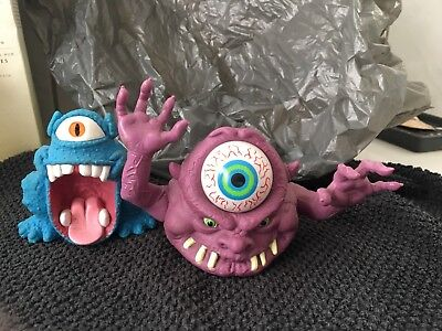 Bug-eye Ghost + H2 Ghost - Ghostbusters Circa 1980s - Update
