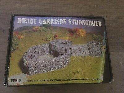 Dwarf Strognhold Castle 25mm Scale Scenery. Suitable for Warhammer.