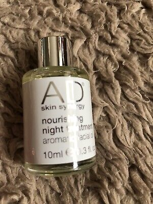 AD Skin Synergy Nourishing Night Treatment Facial Oil Travel Trial Size 10ml